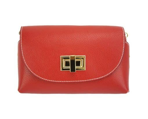 Marinela leather bag red for woman