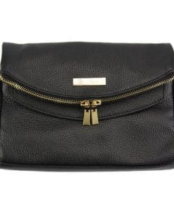 Camelia leather Cross body bag black colour last model new design for woman