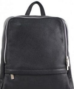 Unisex backpack Betta made of genuine calfskin from italy