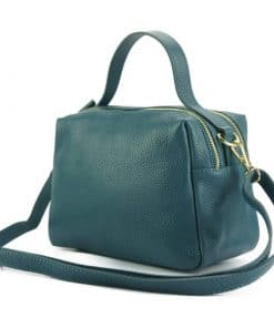 Elvira leather Handbag italian new model from italy for woman
