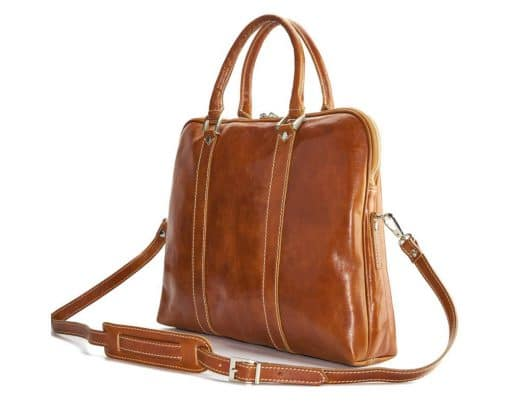 Emanuelle leather Tote bag tan from italy ney style from italy